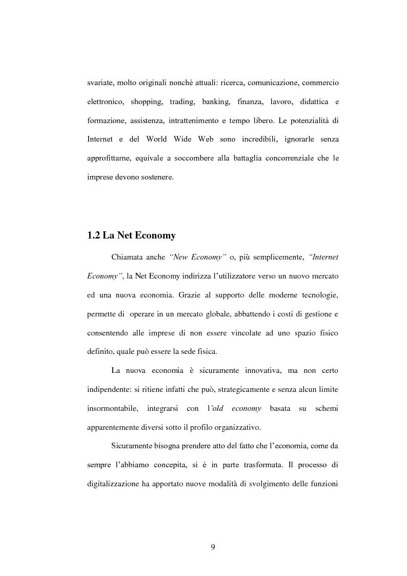 Anteprima della tesi: E-commerce come opportunità di sviluppo per le Piccole e Medie Imprese, Pagina 8