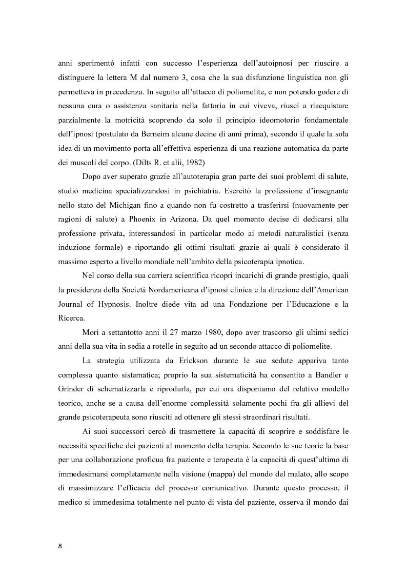 Anteprima della tesi: La programmazione neurolinguistica nella comunicazione aziendale turistica, Pagina 4