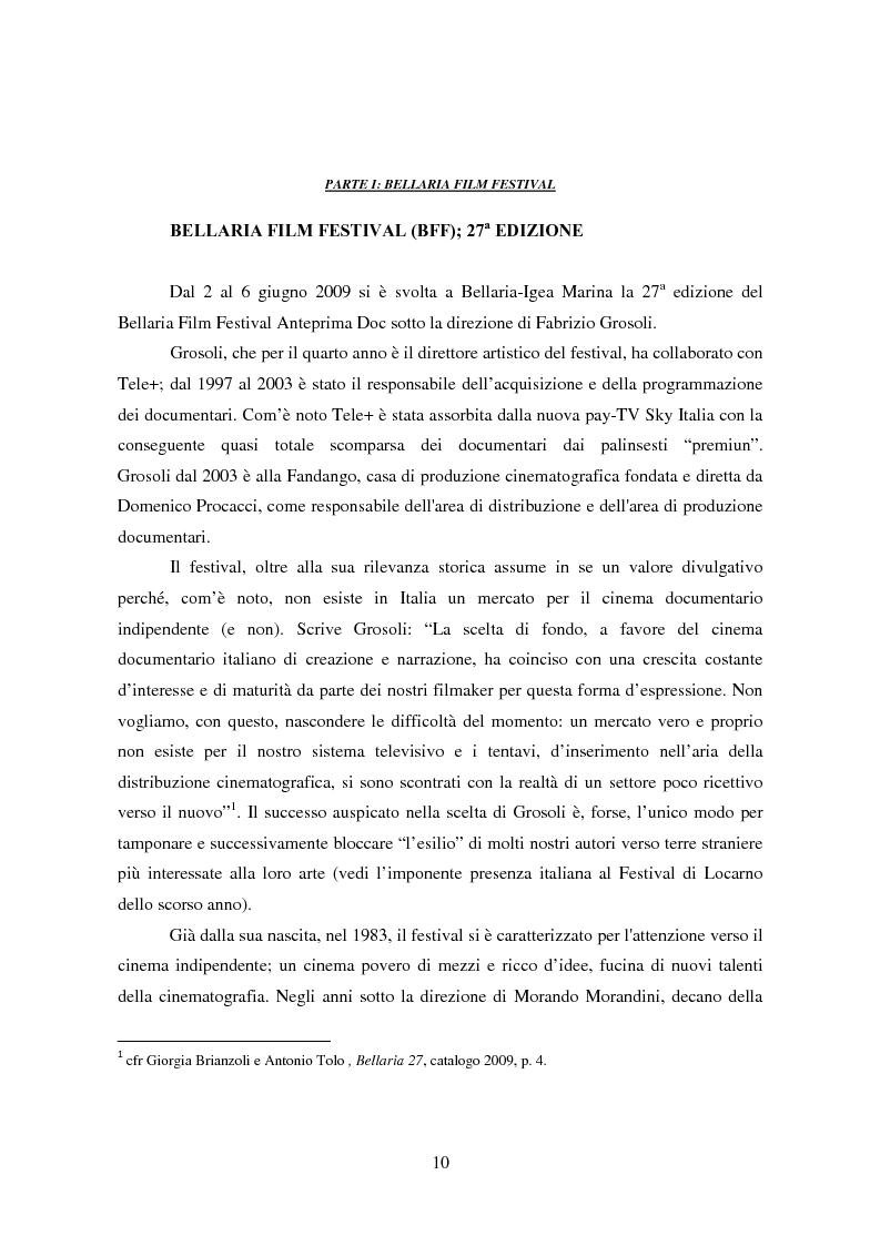 Anteprima della tesi: Tra pornografia ed erotismo: il documentario come strumento didascalico - Il caso Doc Erotika al Bellaria Film Festival, Pagina 7