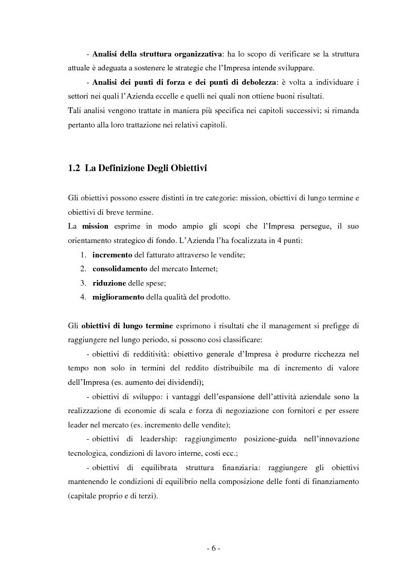 Anteprima della tesi: Business Game, Pagina 4