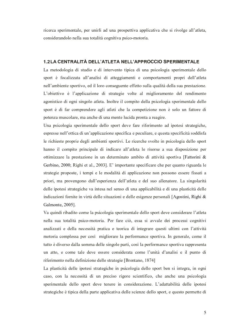 Anteprima della tesi: Applicazione di modelli acustico-visivi per il miglioramento della prestazione nel golf, Pagina 5