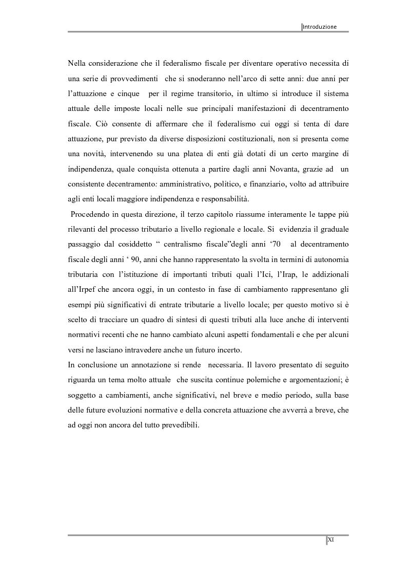 Anteprima della tesi: Federalismo fiscale: i riflessi sugli enti territoriali, Pagina 4