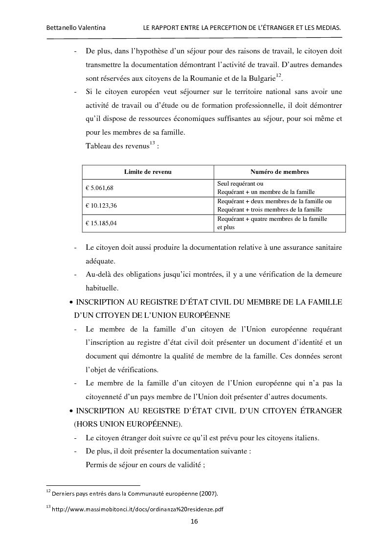 Anteprima della tesi: Le rapport entre la perception de l'étranger et les médias, Pagina 10
