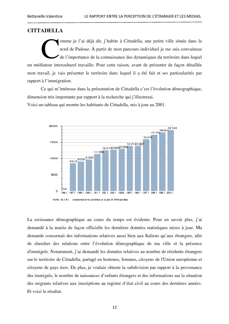 Anteprima della tesi: Le rapport entre la perception de l'étranger et les médias, Pagina 6