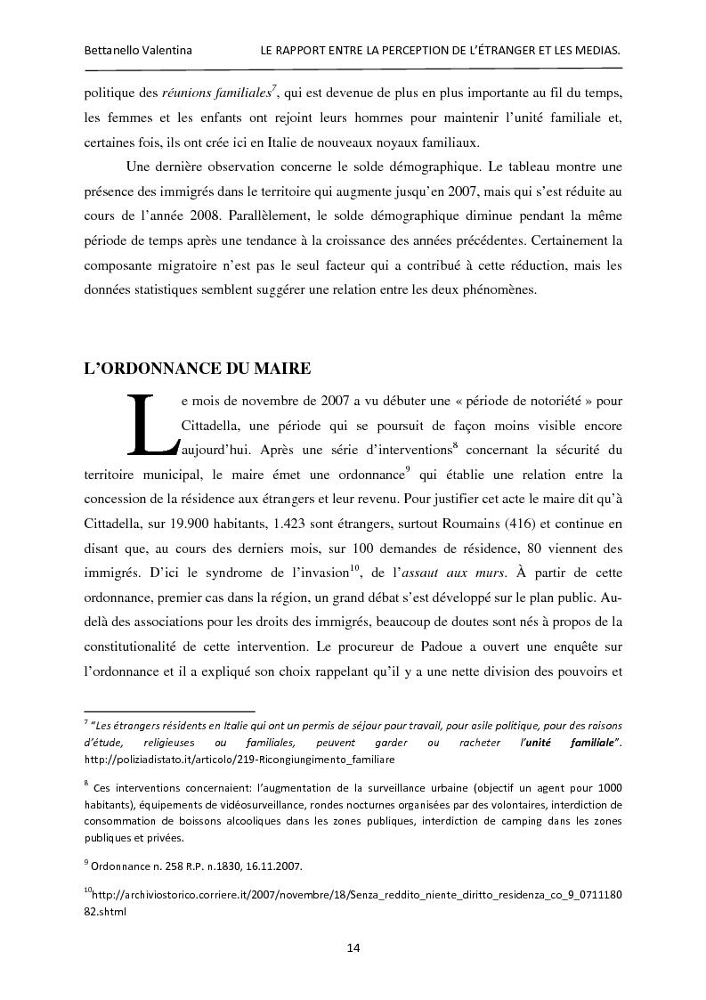 Anteprima della tesi: Le rapport entre la perception de l'étranger et les médias, Pagina 8