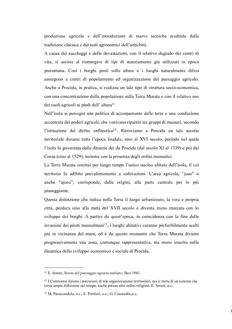Anteprima della tesi: Topografia medievale dell'isola di Procida (e della zona misenate-montese), Pagina 6