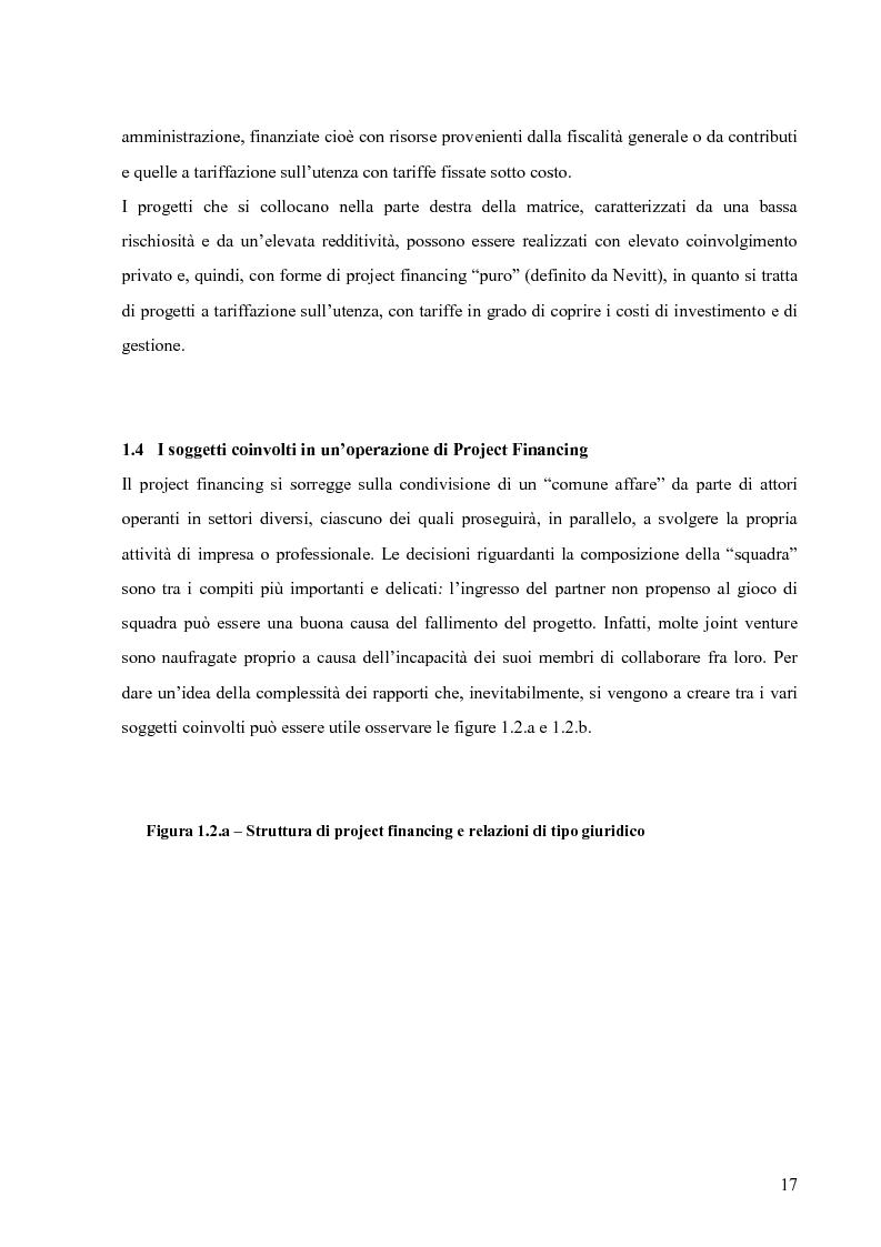 Anteprima della tesi: Applicazione del Project Financing al settore sanitario italiano. Analisi di ''Il Nuovo Complesso Ospedaliero di Vimercate''., Pagina 10