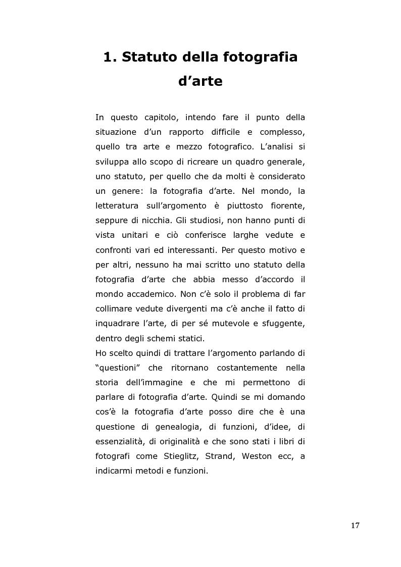 Anteprima della tesi: L'arte come fotografia: educare al silenzio, Pagina 11