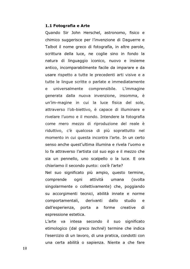Anteprima della tesi: L'arte come fotografia: educare al silenzio, Pagina 12