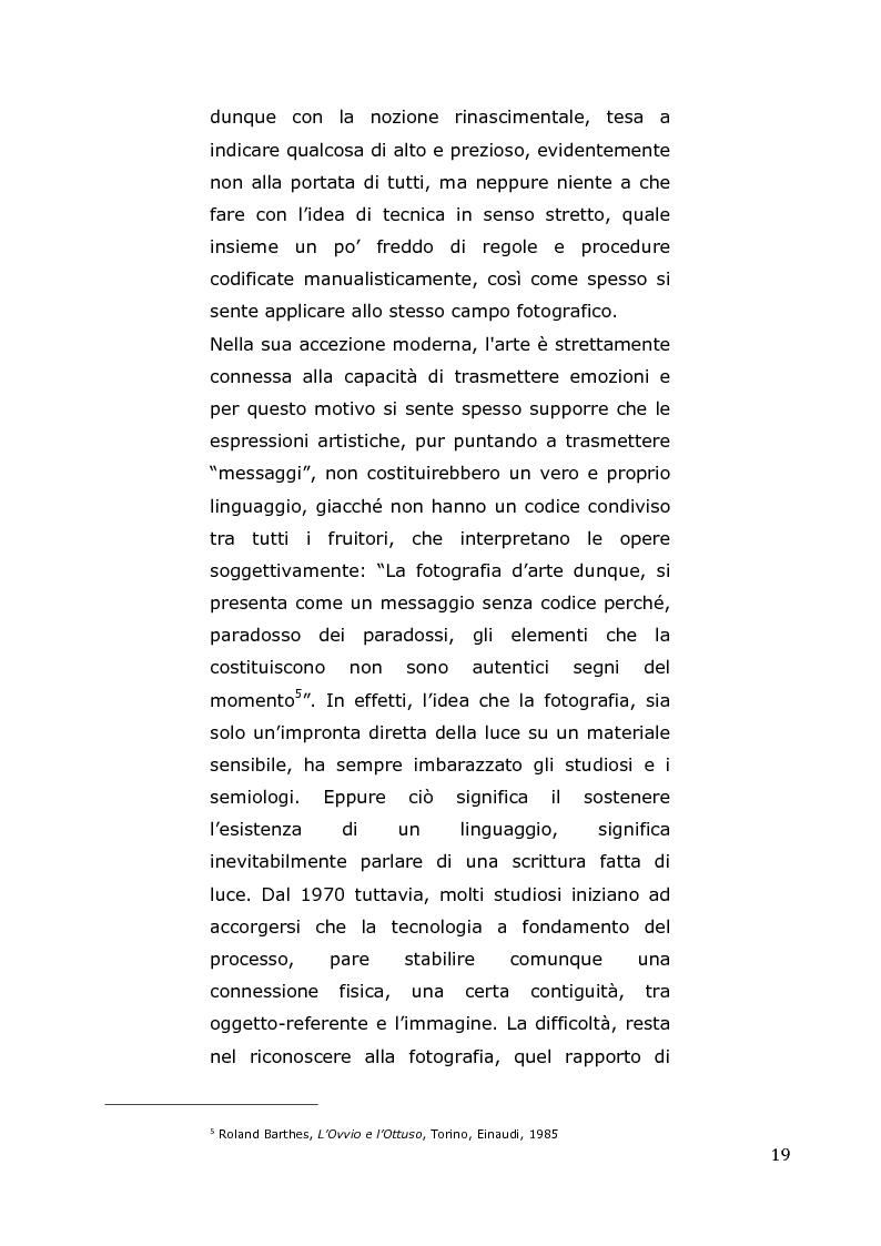 Anteprima della tesi: L'arte come fotografia: educare al silenzio, Pagina 13