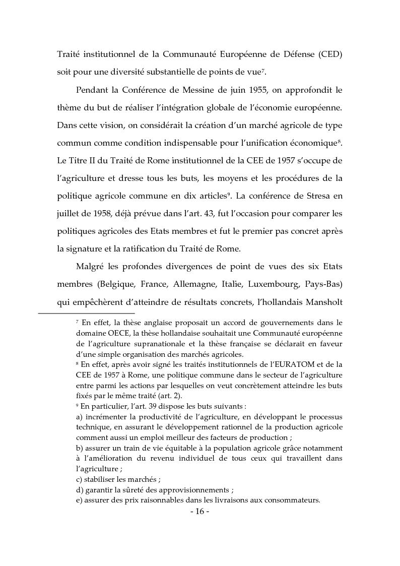 Anteprima della tesi: Les produits typiques pour la promotion du territoire et du tourisme, Pagina 11