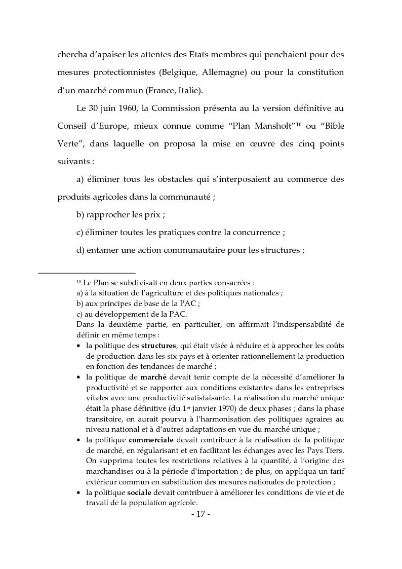 Anteprima della tesi: Les produits typiques pour la promotion du territoire et du tourisme, Pagina 12