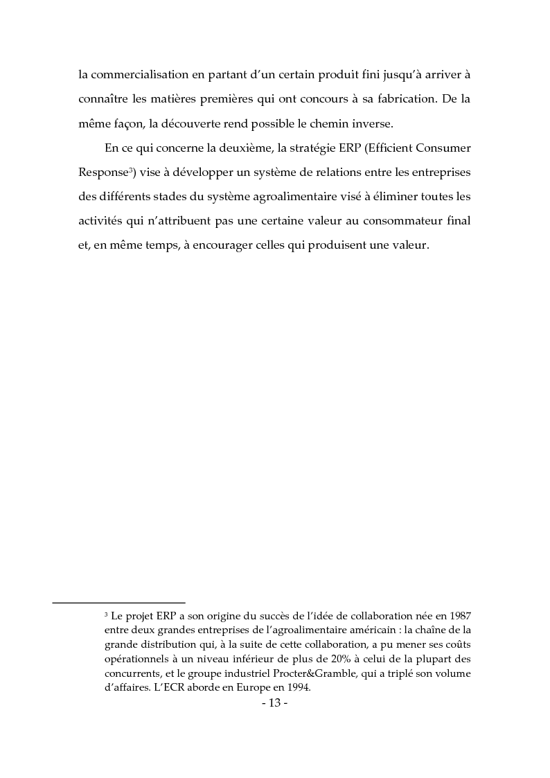 Anteprima della tesi: Les produits typiques pour la promotion du territoire et du tourisme, Pagina 8