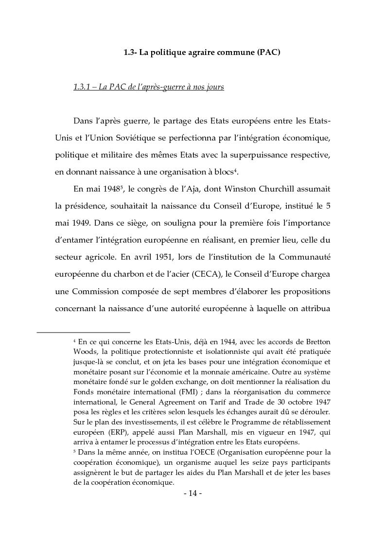 Anteprima della tesi: Les produits typiques pour la promotion du territoire et du tourisme, Pagina 9