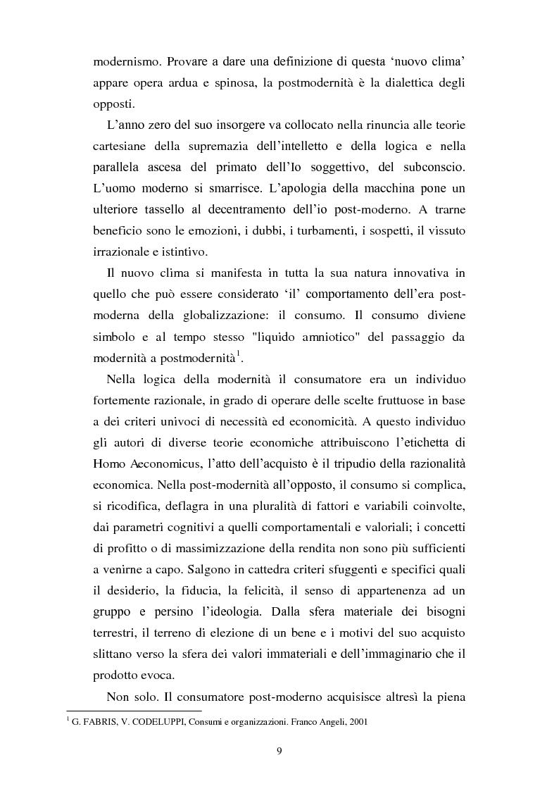 Anteprima della tesi: Dal consumo critico all'impresa responsabile - Rsi: definizione, genesi, tecniche di implementazione e analisi di caso, Pagina 2