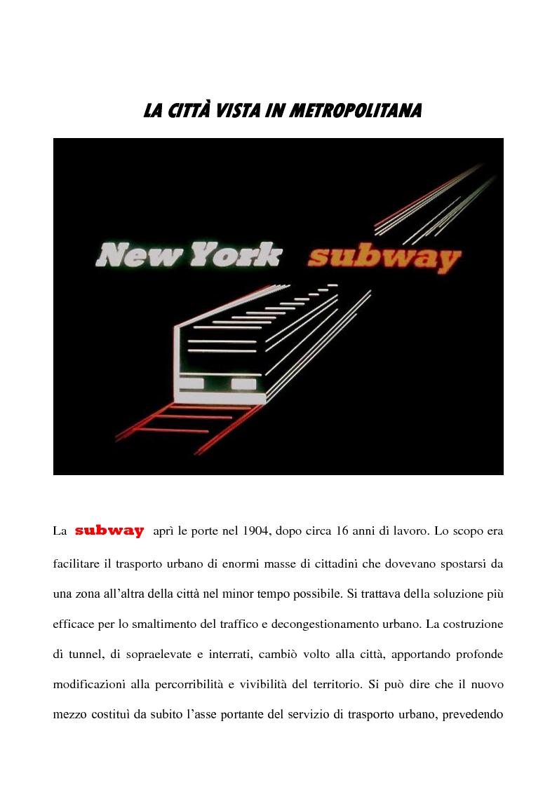 Anteprima della tesi: New York subway: rumori e creatività sotterranea tra fine anni '70 e anni '80, Pagina 1