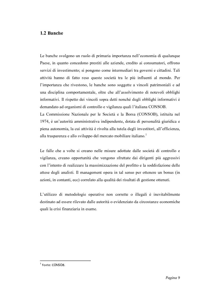 Anteprima della tesi: Gli effetti del credit crunch sull'economia mondiale ed italiana, con particolare riguardo al mondo bancario e finanziario, Pagina 2