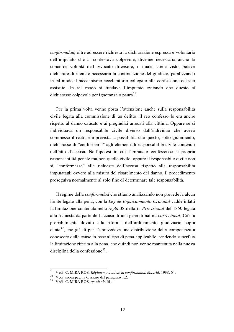 Anteprima della tesi: La ''Conformidad'' nel processo penale spagnolo, Pagina 12