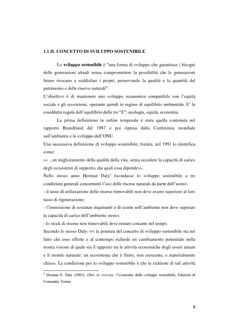 Anteprima della tesi: L'analisi del settore fotovoltaico nella provincia di Catania: lo scenario competitivo e le prospettive di sviluppo, Pagina 5