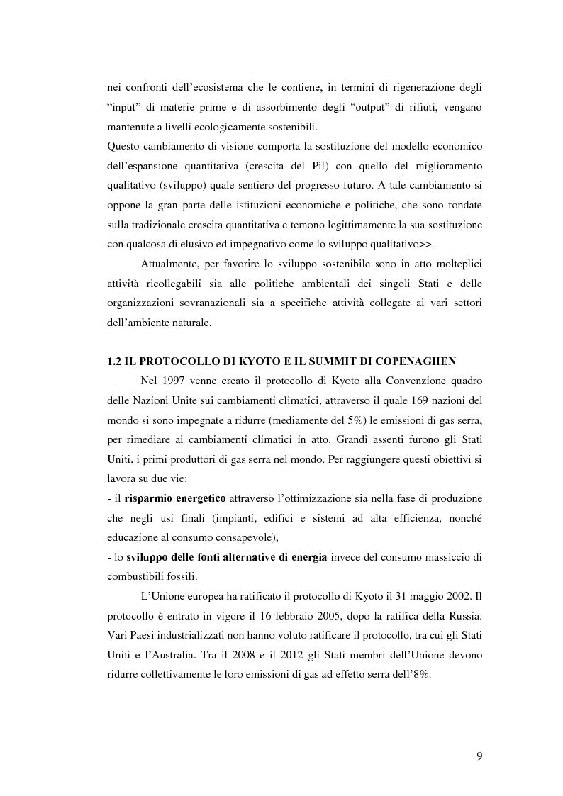 Anteprima della tesi: L'analisi del settore fotovoltaico nella provincia di Catania: lo scenario competitivo e le prospettive di sviluppo, Pagina 6