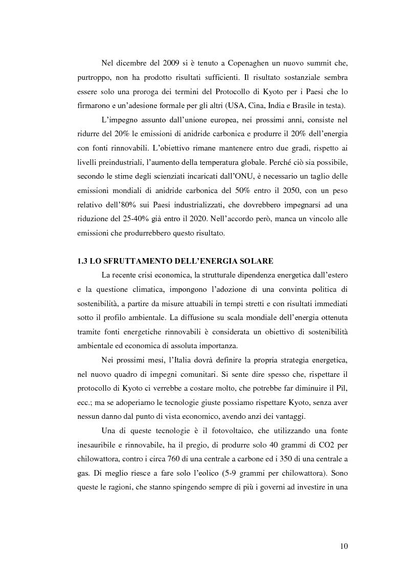 Anteprima della tesi: L'analisi del settore fotovoltaico nella provincia di Catania: lo scenario competitivo e le prospettive di sviluppo, Pagina 7