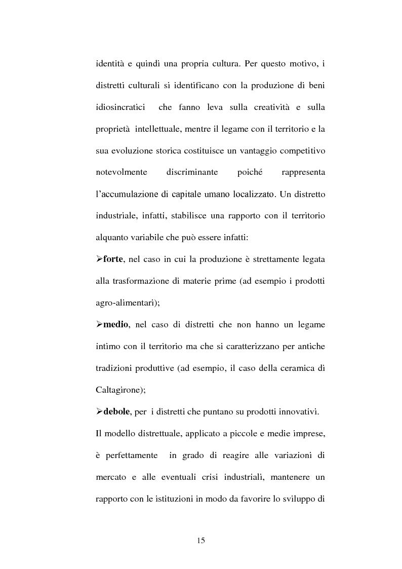 Anteprima della tesi: I distretti culturali: promozione e conservazione di nuove forme d'arte, Pagina 6