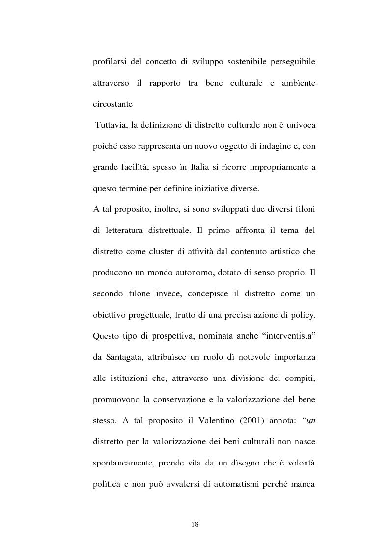 Anteprima della tesi: I distretti culturali: promozione e conservazione di nuove forme d'arte, Pagina 9