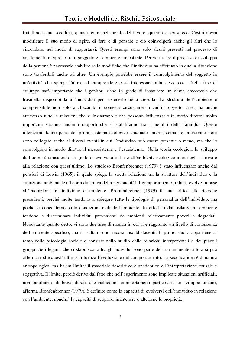 Anteprima della tesi: I modelli eziologici del rischio psicosociale: la situazione dei minori in Albania, Pagina 3