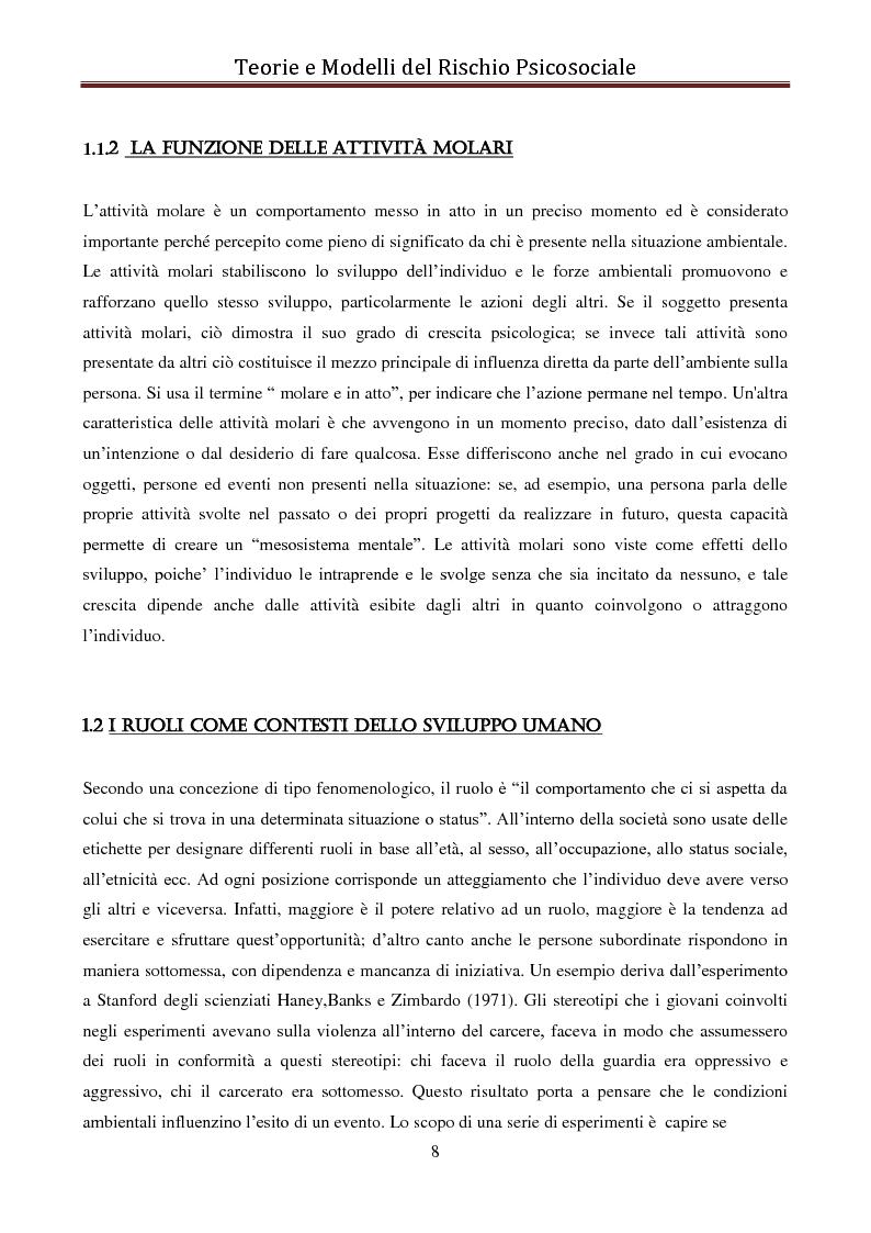 Anteprima della tesi: I modelli eziologici del rischio psicosociale: la situazione dei minori in Albania, Pagina 4