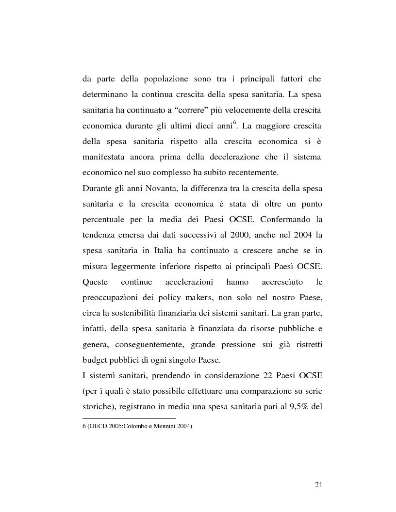 Anteprima della tesi: Le sponsorizzazioni nelle strutture sanitarie pubbliche, Pagina 11