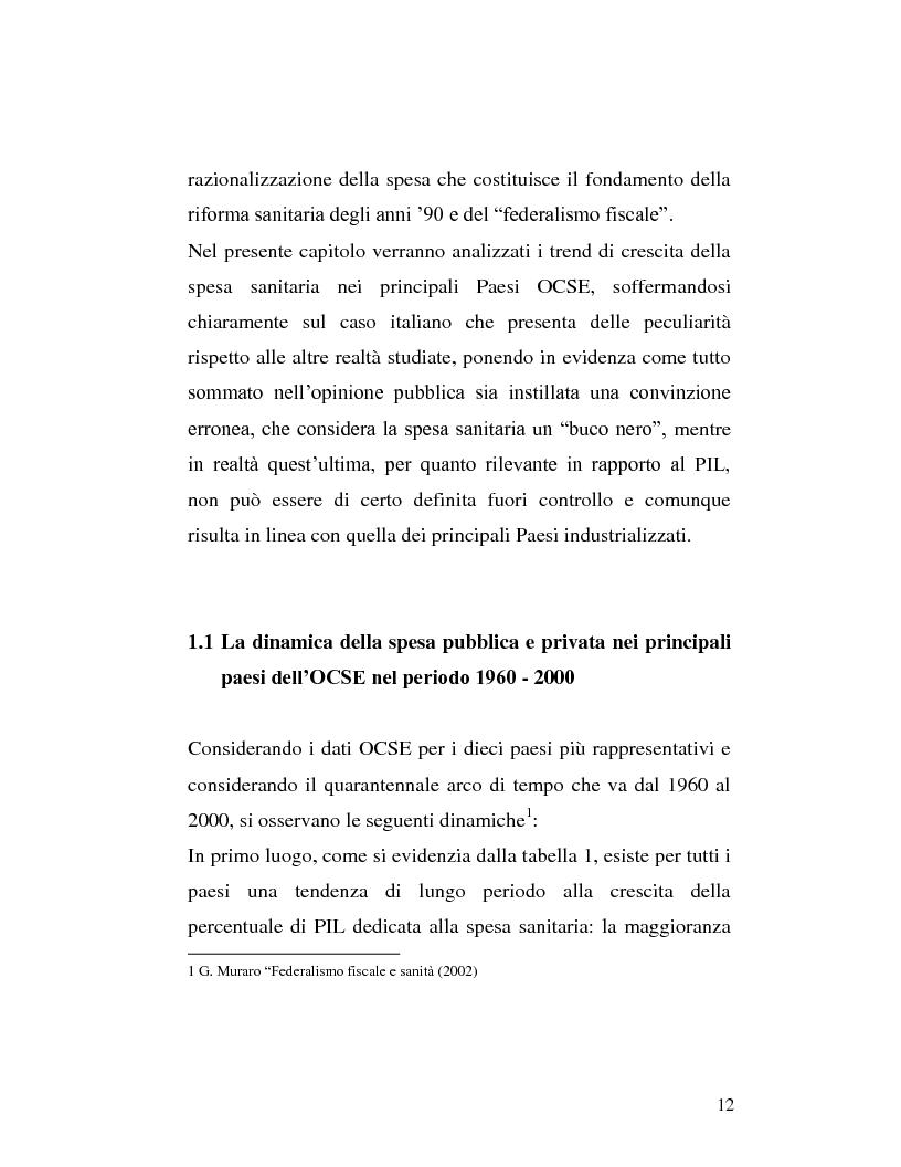 Anteprima della tesi: Le sponsorizzazioni nelle strutture sanitarie pubbliche, Pagina 2