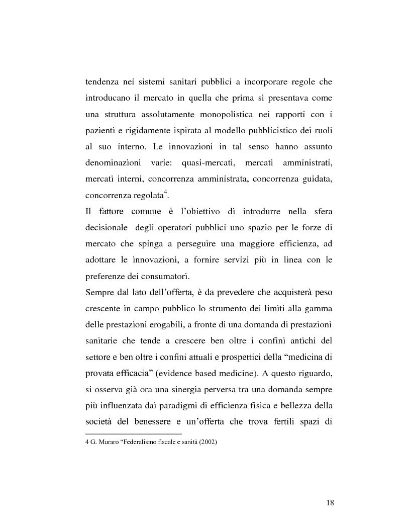 Anteprima della tesi: Le sponsorizzazioni nelle strutture sanitarie pubbliche, Pagina 8
