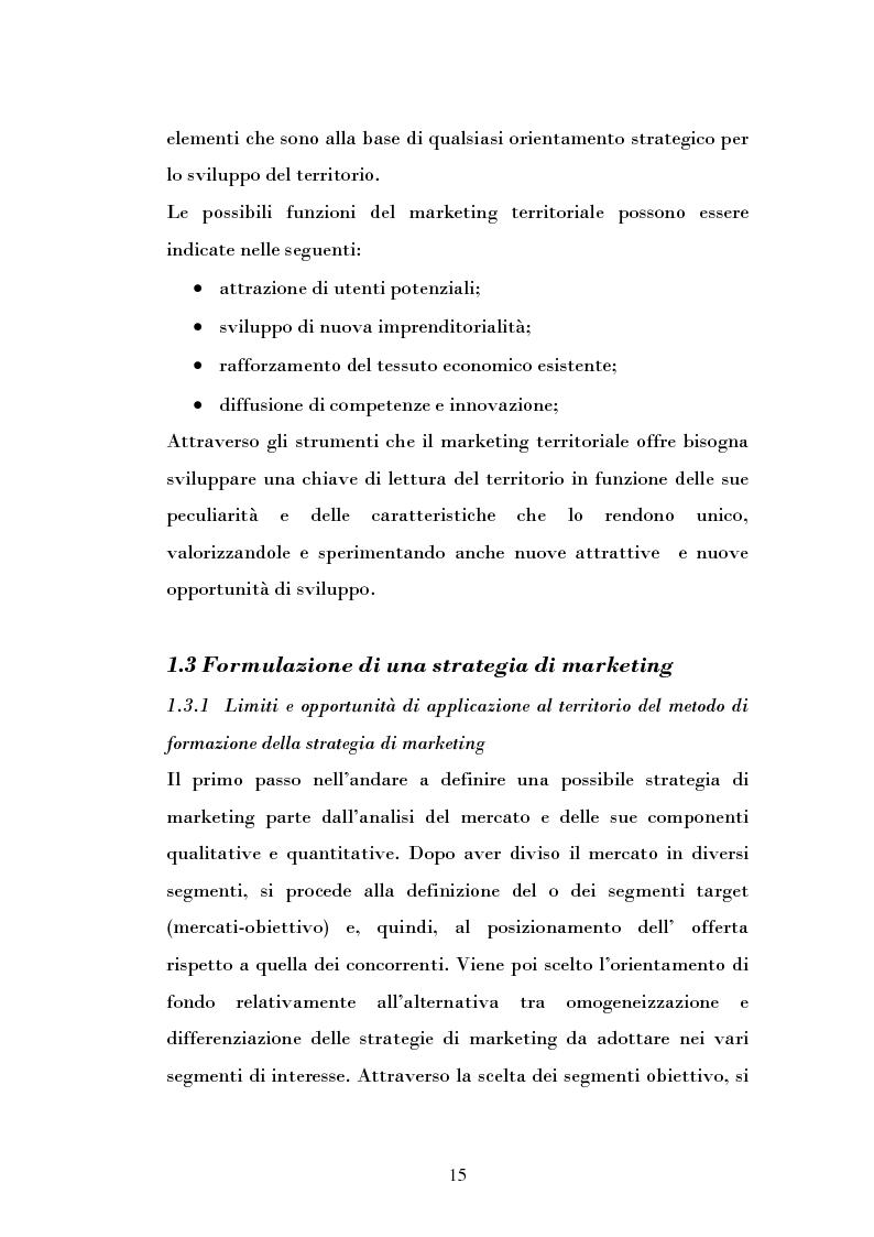 Anteprima della tesi: Ipotesi di sviluppo e valorizzazione di un'area geografica: il caso di Burgio, Pagina 10