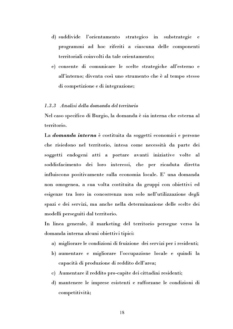 Anteprima della tesi: Ipotesi di sviluppo e valorizzazione di un'area geografica: il caso di Burgio, Pagina 13