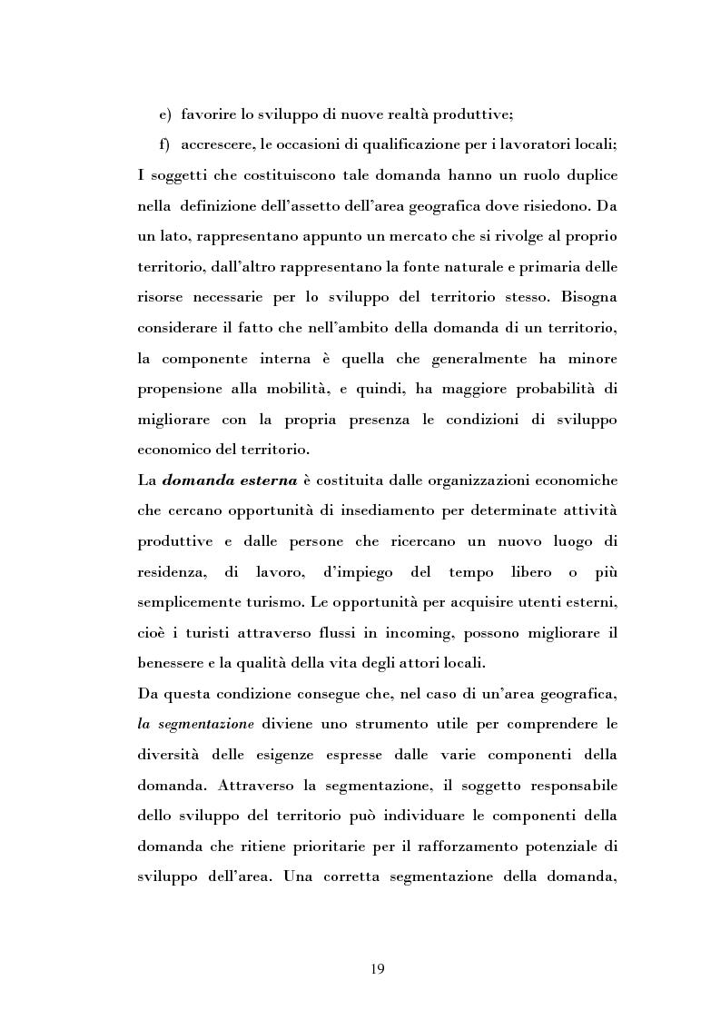 Anteprima della tesi: Ipotesi di sviluppo e valorizzazione di un'area geografica: il caso di Burgio, Pagina 14