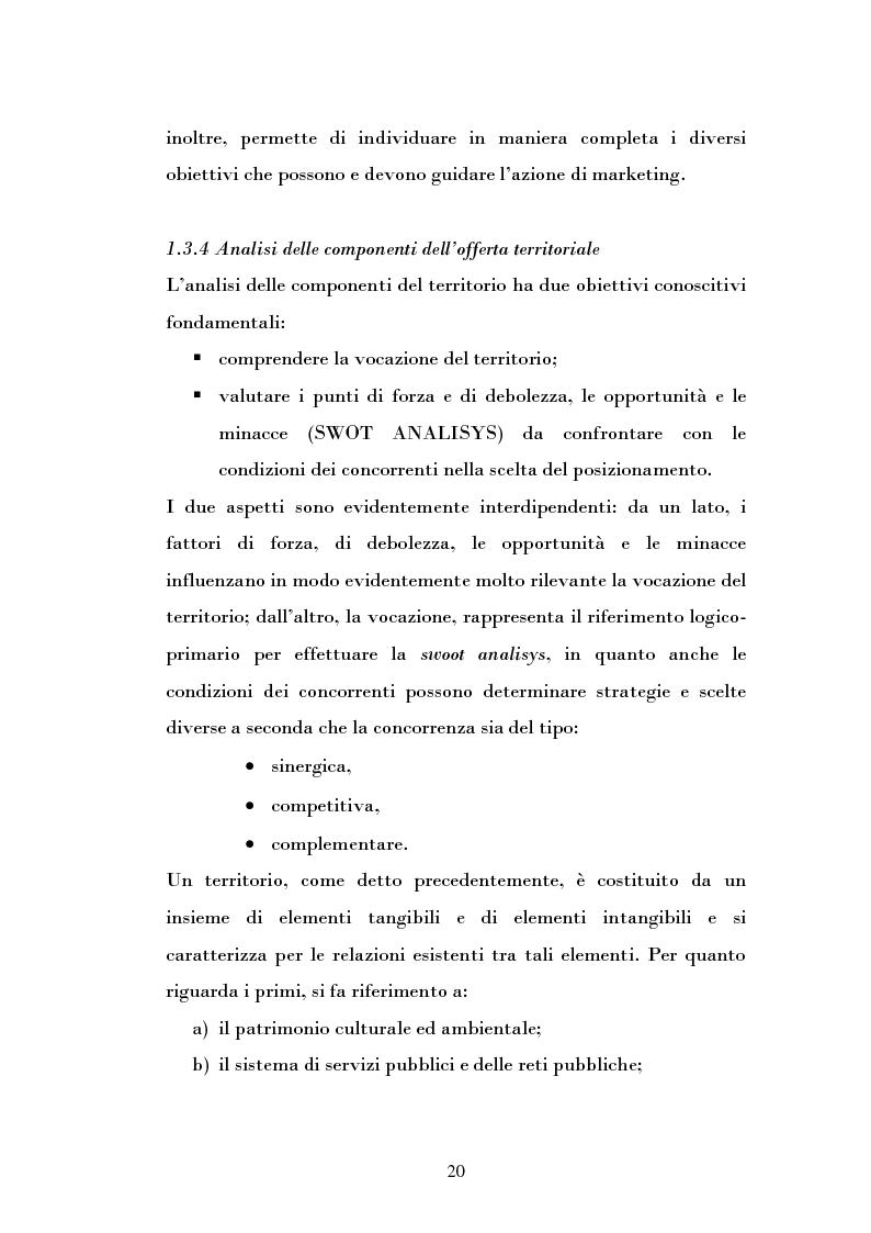 Anteprima della tesi: Ipotesi di sviluppo e valorizzazione di un'area geografica: il caso di Burgio, Pagina 15