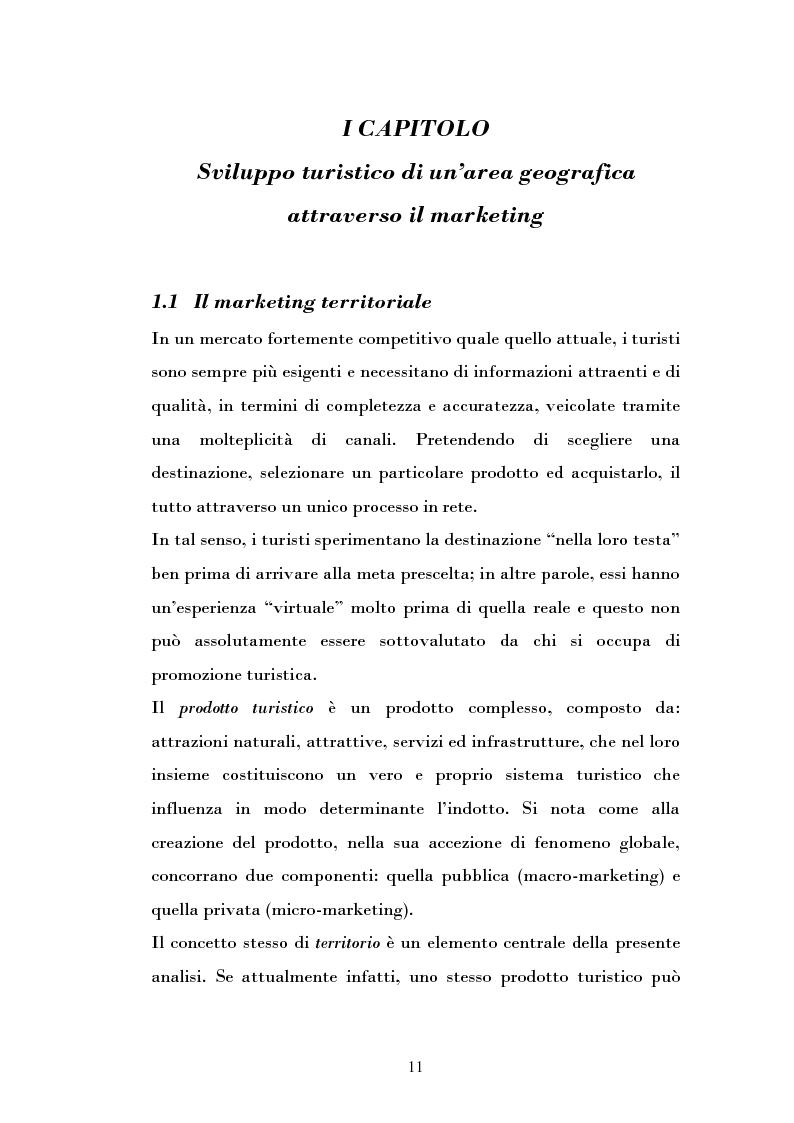 Anteprima della tesi: Ipotesi di sviluppo e valorizzazione di un'area geografica: il caso di Burgio, Pagina 6
