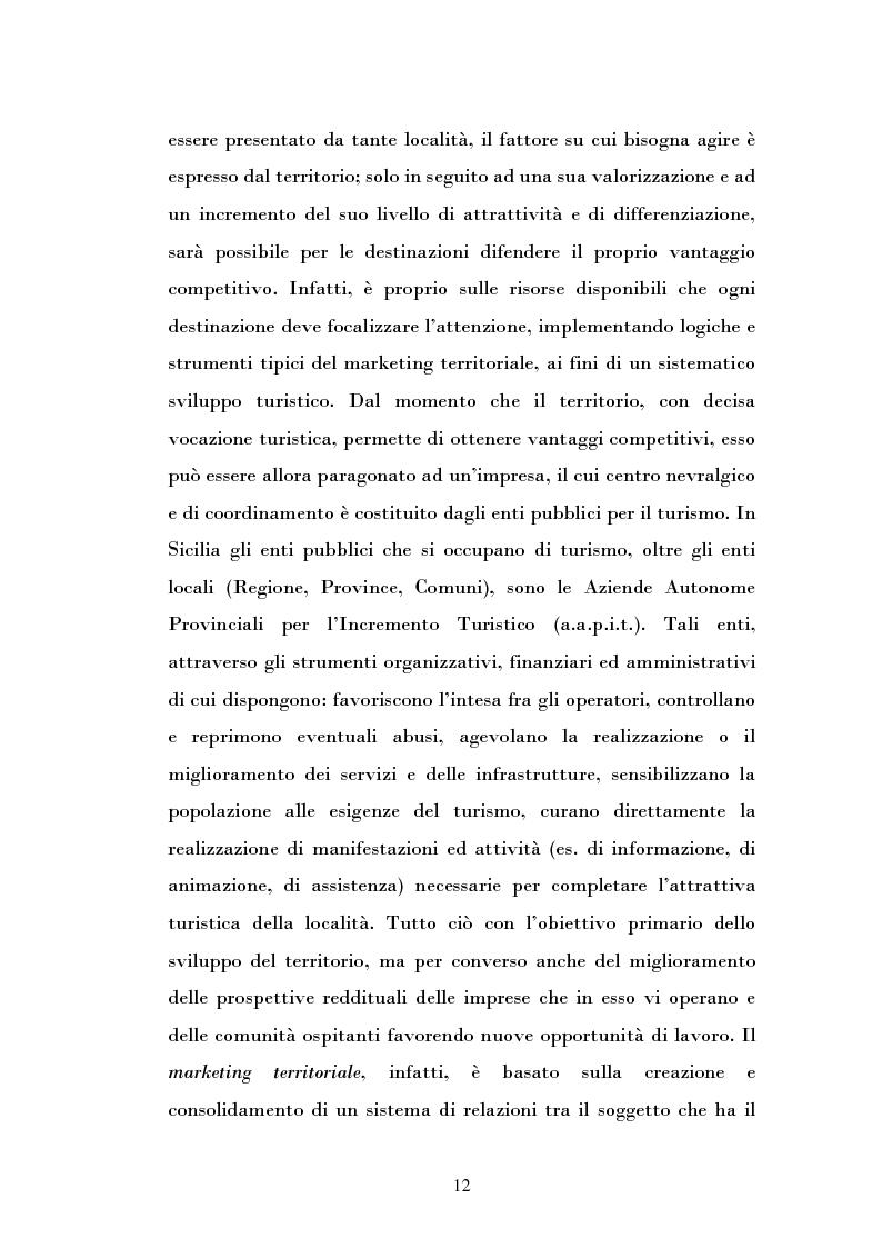 Anteprima della tesi: Ipotesi di sviluppo e valorizzazione di un'area geografica: il caso di Burgio, Pagina 7