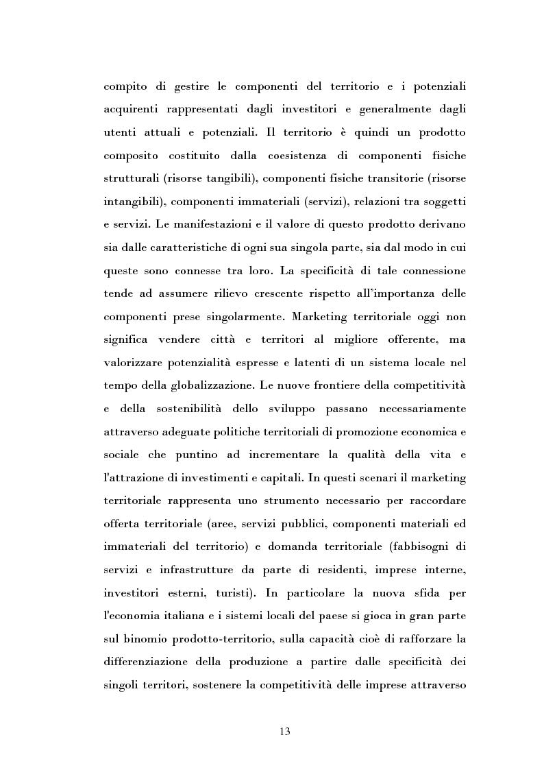 Anteprima della tesi: Ipotesi di sviluppo e valorizzazione di un'area geografica: il caso di Burgio, Pagina 8