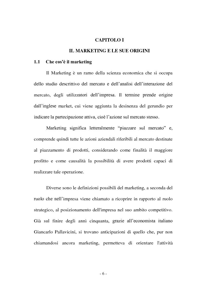 Anteprima della tesi: Co-marketing sportivo - Strategie di cooperazione. Il progetto Verde Sport S.p.A., Pagina 3