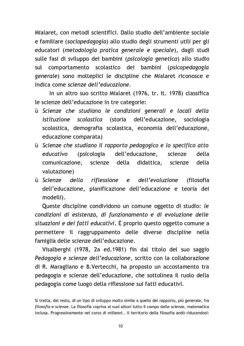 Anteprima della tesi: L'osservazione e la valutazione nell'intervento educativo con i bambini autistici, Pagina 10
