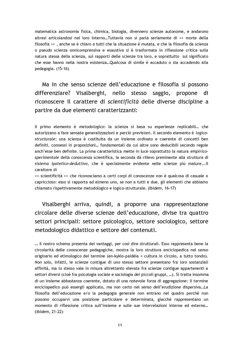 Anteprima della tesi: L'osservazione e la valutazione nell'intervento educativo con i bambini autistici, Pagina 11