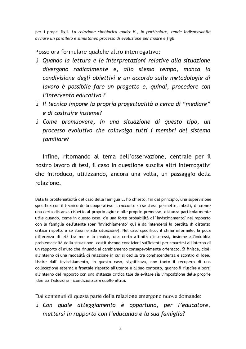 Anteprima della tesi: L'osservazione e la valutazione nell'intervento educativo con i bambini autistici, Pagina 4