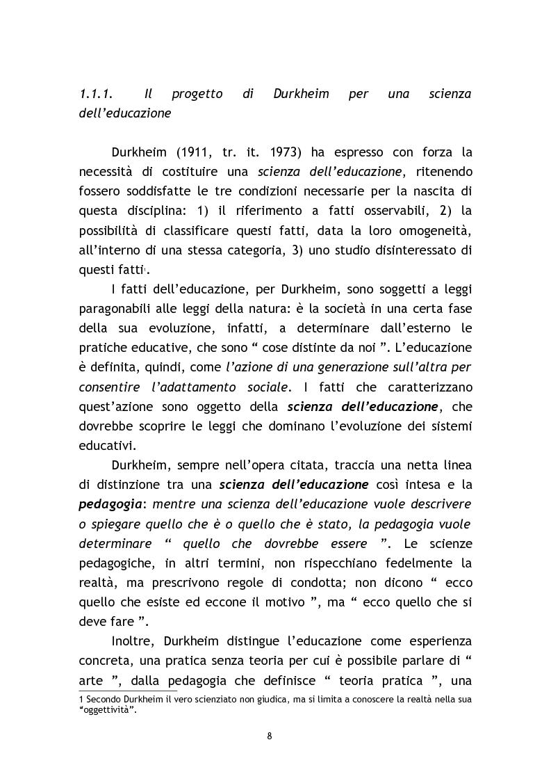 Anteprima della tesi: L'osservazione e la valutazione nell'intervento educativo con i bambini autistici, Pagina 8