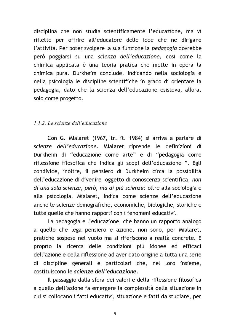 Anteprima della tesi: L'osservazione e la valutazione nell'intervento educativo con i bambini autistici, Pagina 9