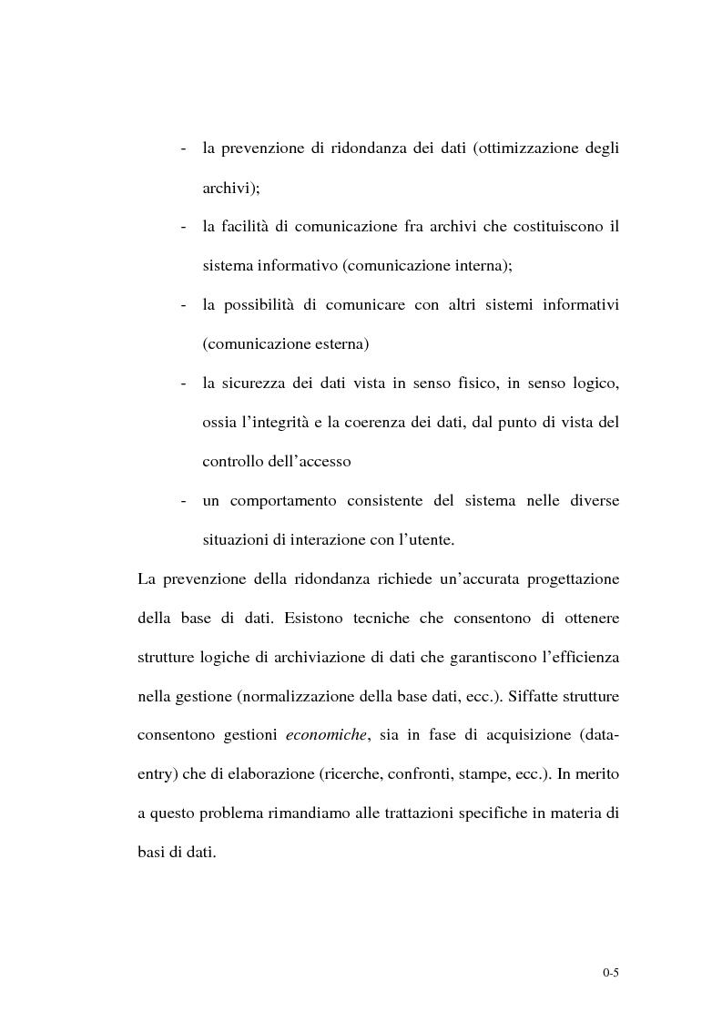 Anteprima della tesi: Un supporto informativo integrato per le Amministrazioni Locali, Pagina 3