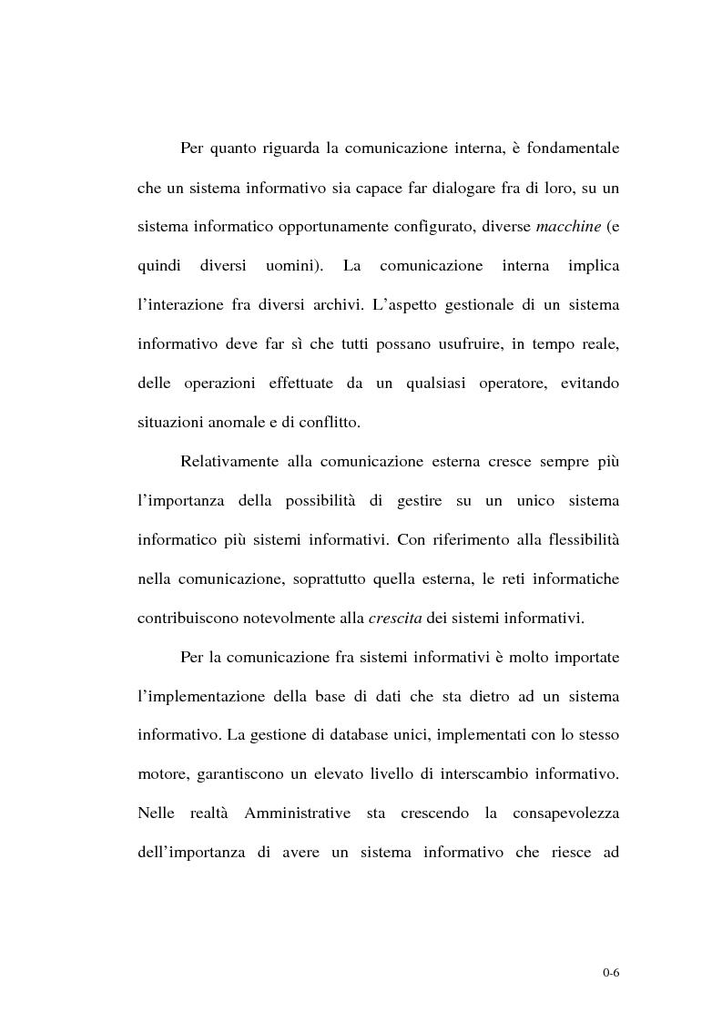 Anteprima della tesi: Un supporto informativo integrato per le Amministrazioni Locali, Pagina 4