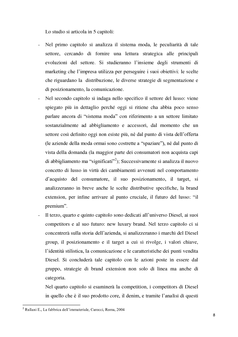 Anteprima della tesi: Branding up grade: il caso Diesel, Pagina 3
