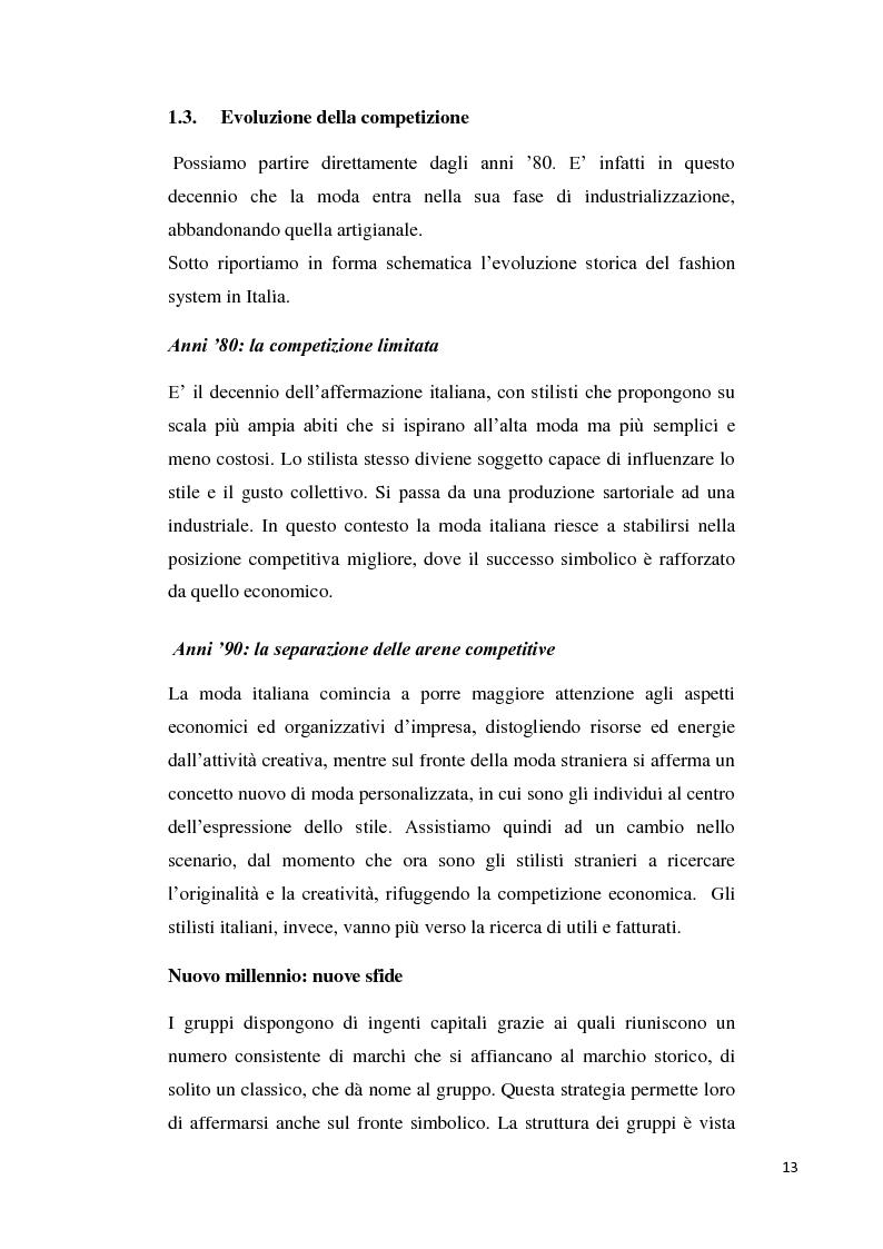 Anteprima della tesi: Branding up grade: il caso Diesel, Pagina 8