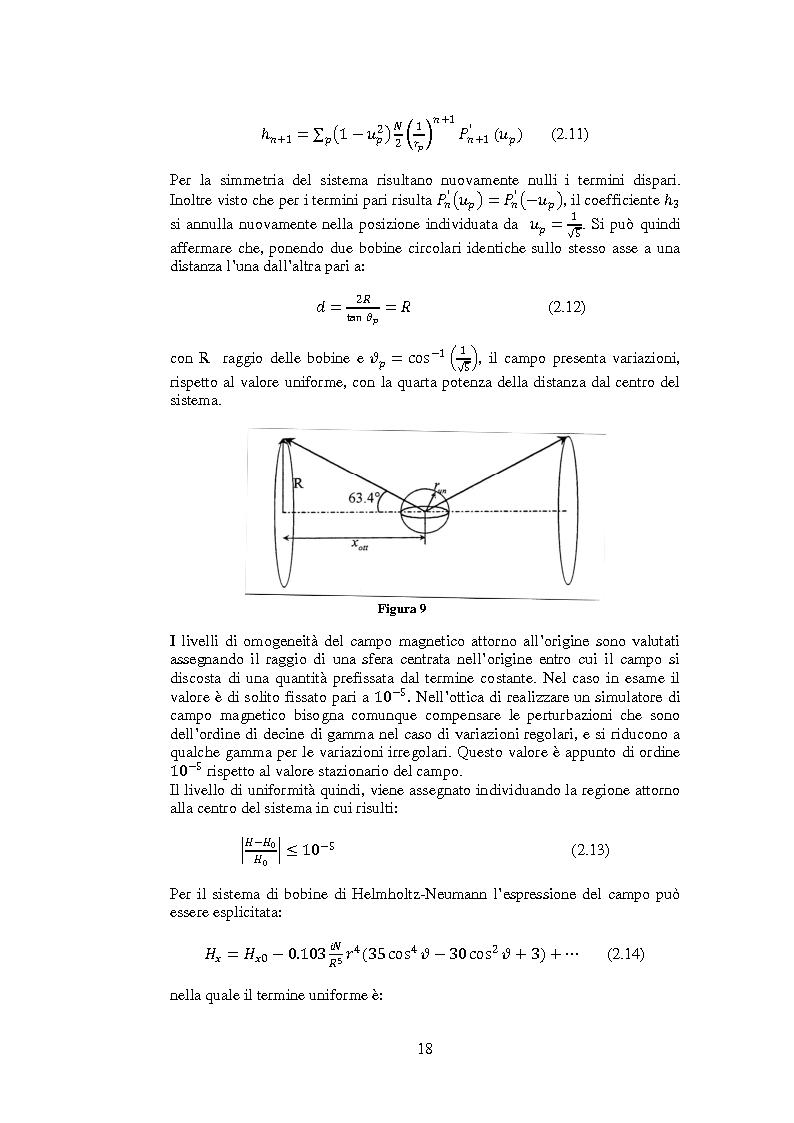 Anteprima della tesi: Progetto e realizzazione di una camera magnetica per prove di controllo d'assetto, Pagina 12
